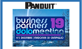 panduit business partners dolomeeting 2019